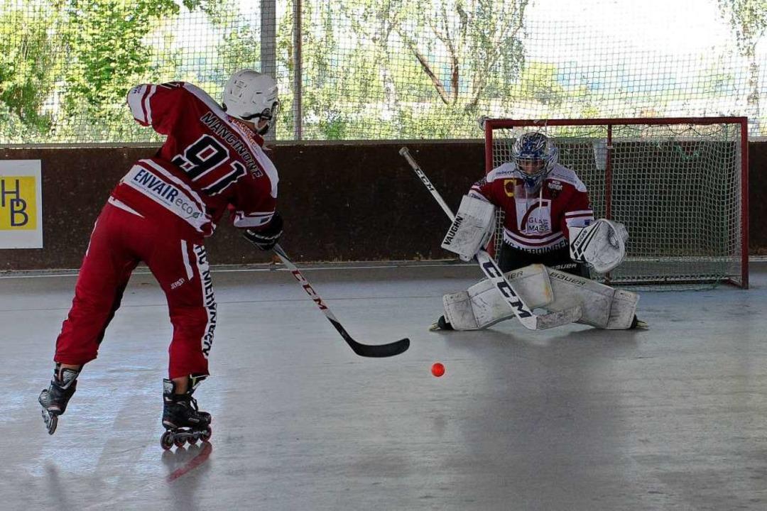 Beim HC Panther Merdingen trainieren d...ken, Manschaftspiele sind weiter tabu.  | Foto: Daniel Hengst