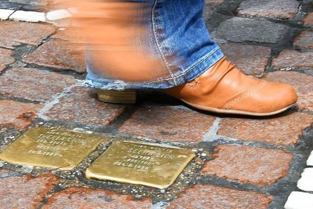 Jetzt steht fest, für wen die ersten Stolpersteine in Lörrach verlegt werden