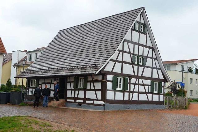 Gaus-Haus in Denzlingen erstrahlt nach Sanierung in neuem Glanz