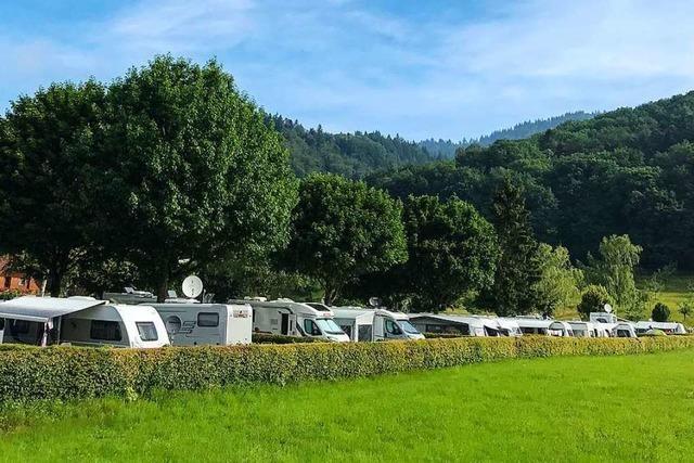 Campingplätze im Südlichen Breisgau sind schon fast ausgebucht