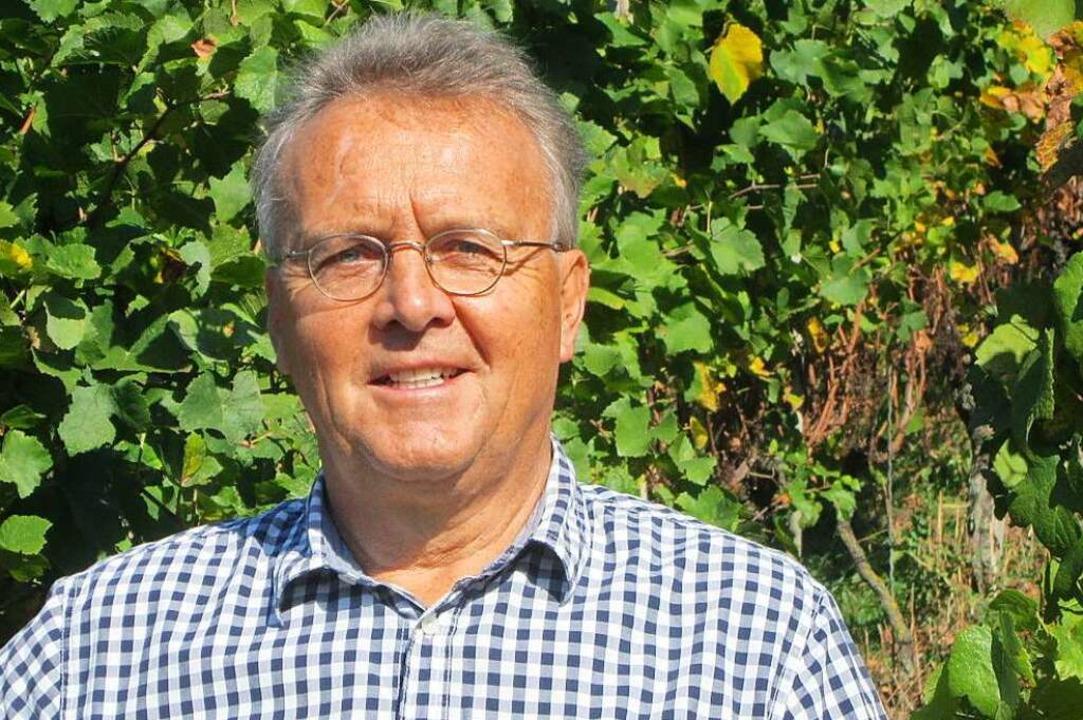 Weinbauberater Hansjörg Stücklin  | Foto: Stücklin