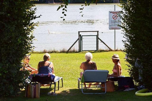 Am Mittwoch öffnet das Rheinschwimmbad in Schwörstadt