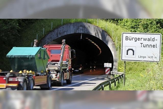 Mehr Sicherheit im Bürgerwaldtunnel