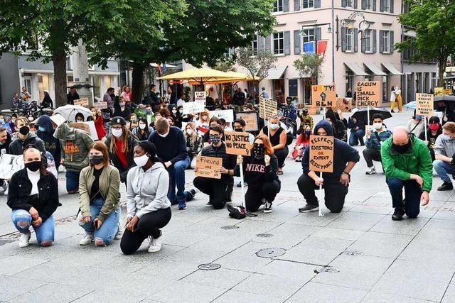 Auch in Lörrach sagen Demonstranten
