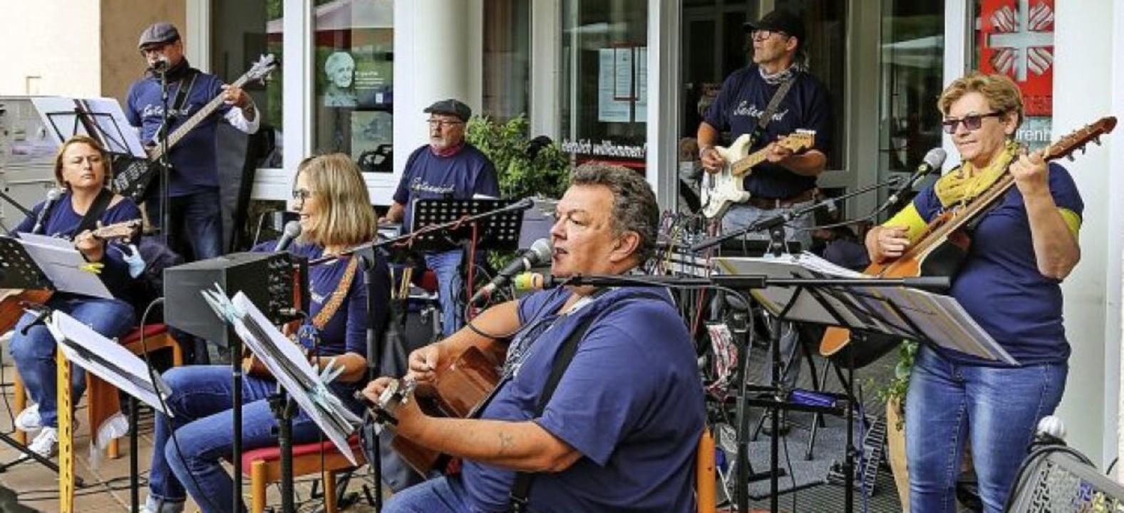 Saitenwind-Konzert in Corona-Zeiten   | Foto: Sandra Decoux-Kone