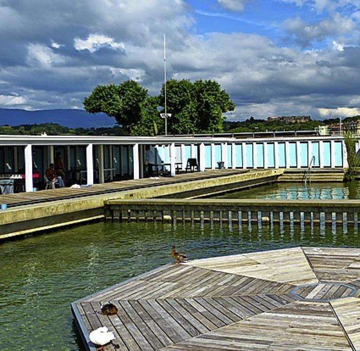 Die Bains de Paquis in Genf    Foto: Geraldine Friedrich