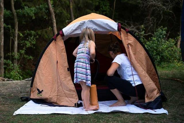 Was sollte ein gutes Zelt können?