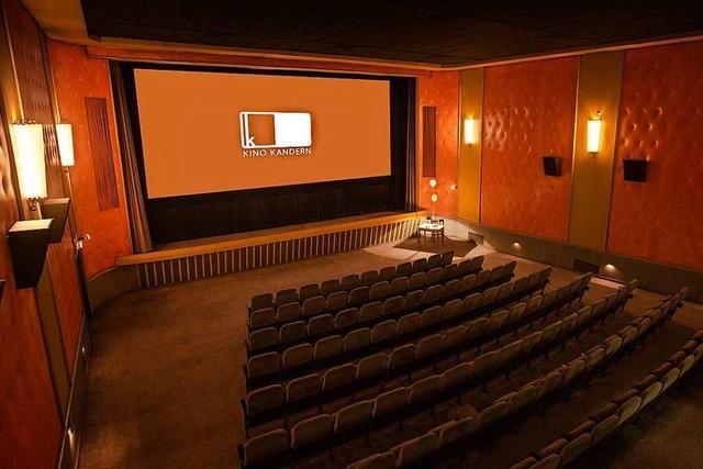 Das Kino Kandern nimmt am 2. Juli den Betrieb wieder auf