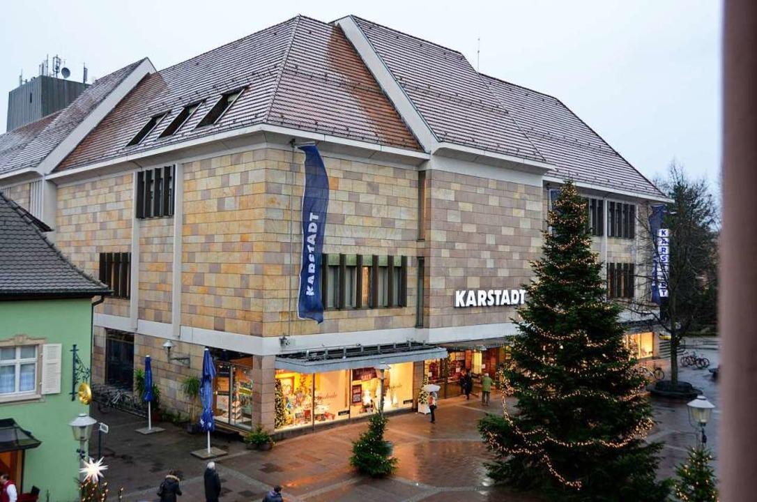 Karstadt in Offenburg  | Foto: Ralf Burgmaier