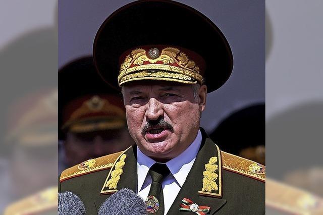 Lukaschenko greift vor der Wahl durch