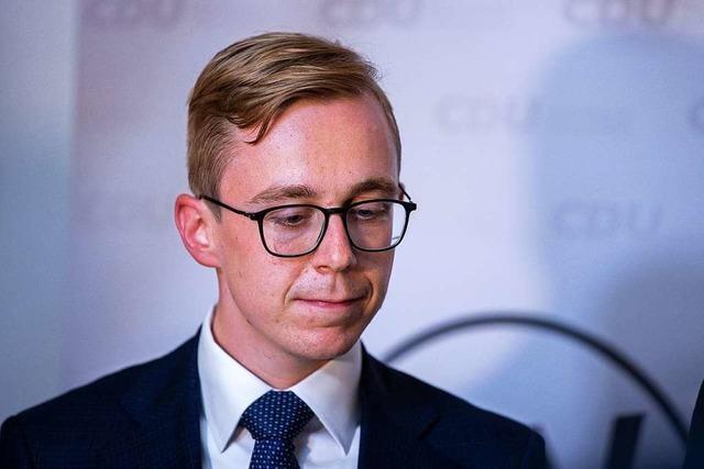 Philipp Amthor verzichtet auf CDU-Landesvorsitz