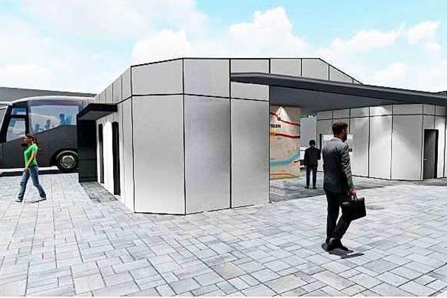 Dach des Bahnhofgebäudes in Wyhlen wird nicht begrünt