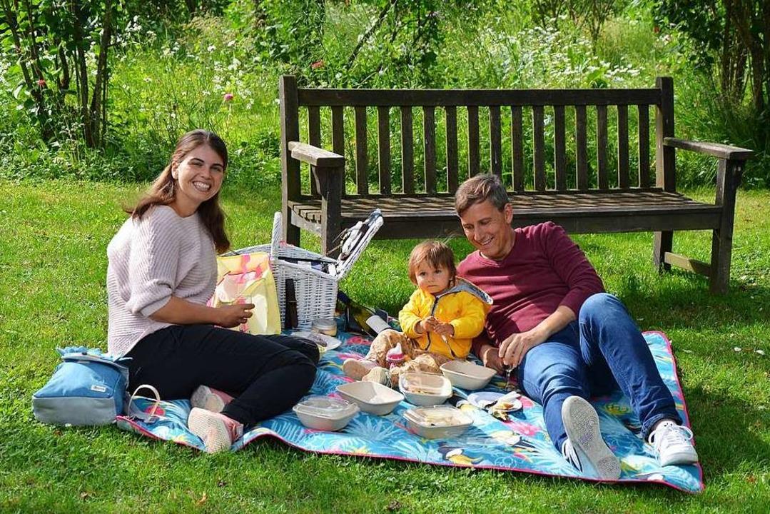 Romantisch am Spätnachmittag: Picknick mit der Familie  | Foto: Ulrike Ott