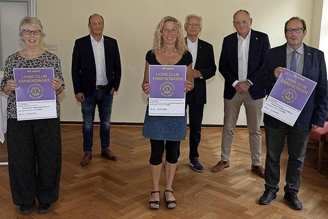 Lions Club spendet 15000 Euro