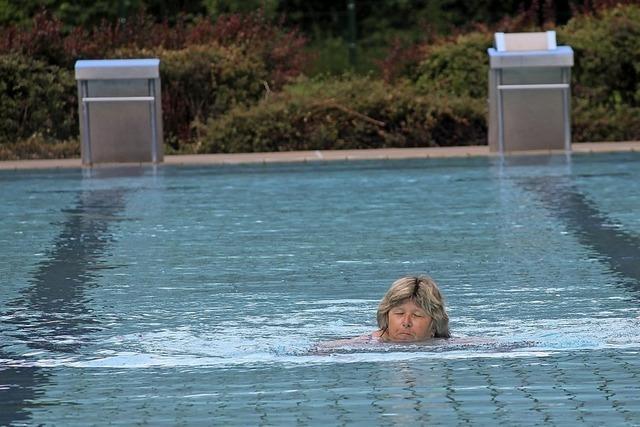 Start mit 25 Schwimmern