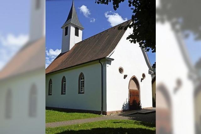 Lichtsignal aus der Kirche St. Agathe