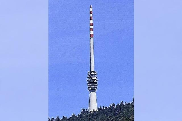 Turm wird rot