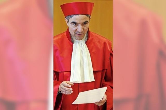 Ein Richter mit Vorgeschichte
