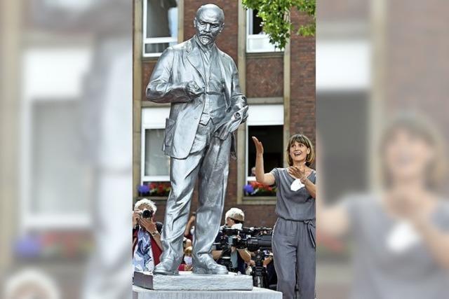 Neue Lenin-Statue