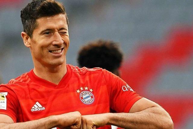 Ein Lewandowski-Traum(a) – niemand trifft gegen Freiburg so oft wie der Bayern-Star