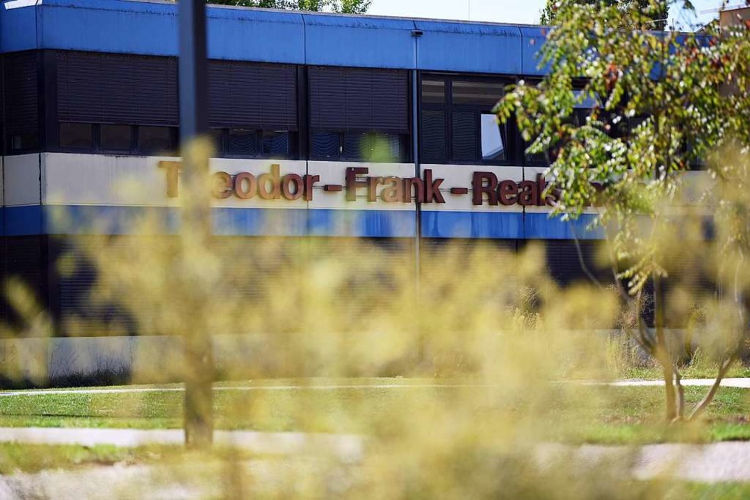 An der Theodor-Frank-Realschule werden 450 Schüler unterrichtet.  | Foto: Jonas Hirt