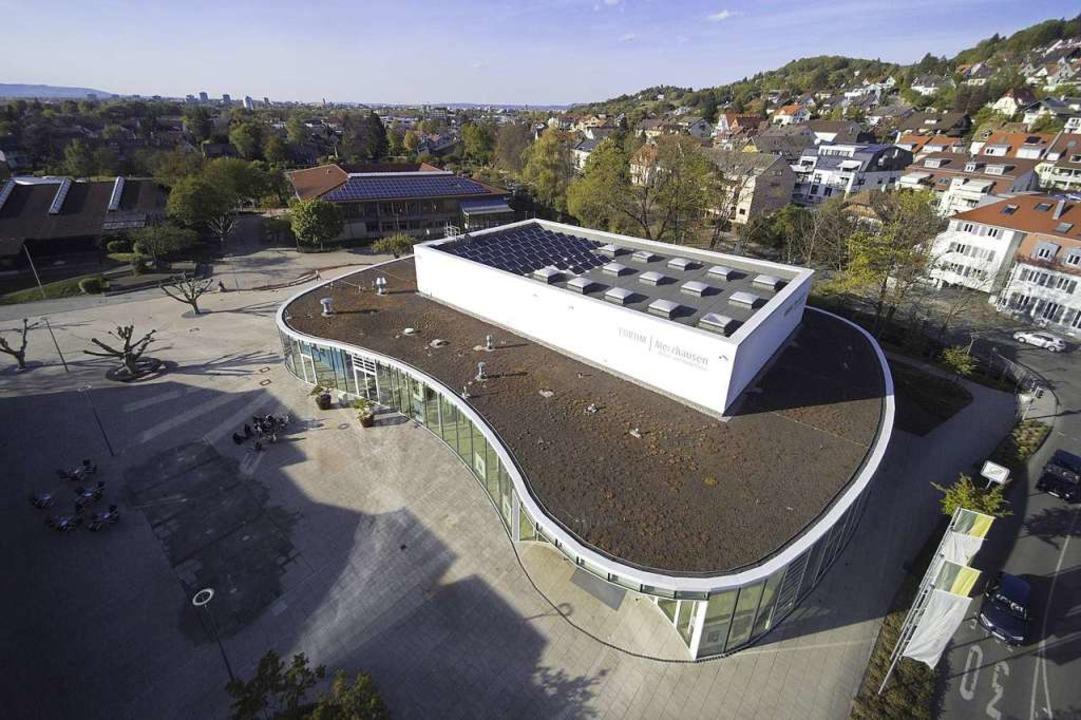 Das Forum in Merzhausen  | Foto: Michael Saurer