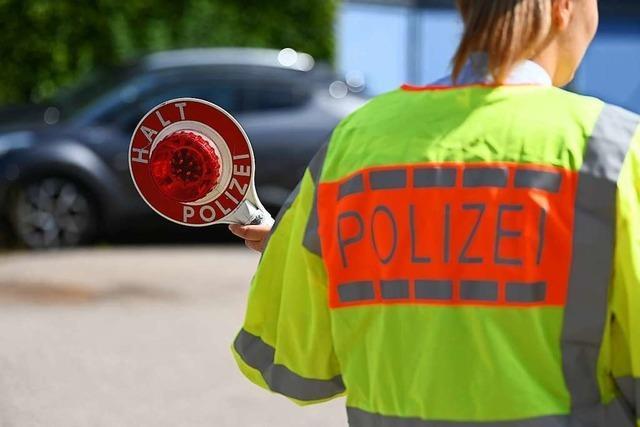 Kein Gewehr, aber eine Abschussrampe für Feuerwerkskörper in Waldkirch-Kollnau