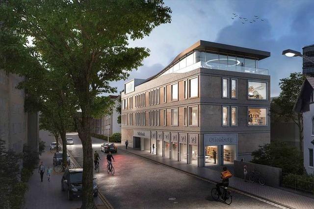 Volksbank in der Ortenau baut Büros und öffentliches Parkhaus für mehr als zehn Millionen Euro