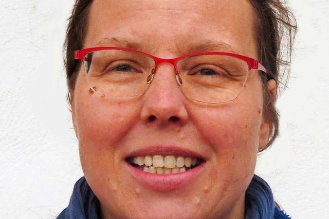 Annekatrin Mickel bewirbt sich um das Bürgermeisteramt in Herrischried