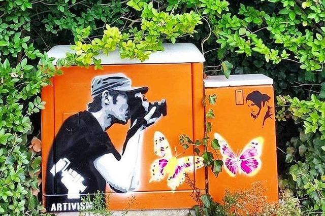 Wie in Freiburg mit Graffiti und Street-Art umgegangen wird