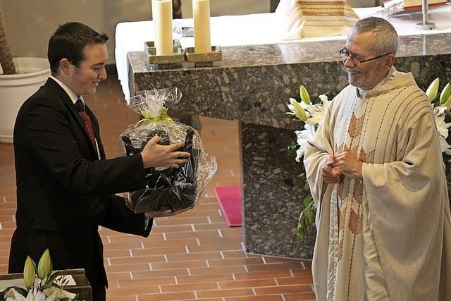 Abschied von Pater Josef Singer im Albtal