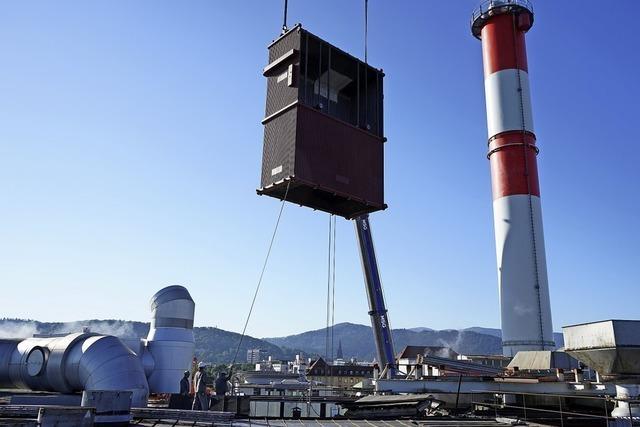 300 Tonnen neue Technik am Haken