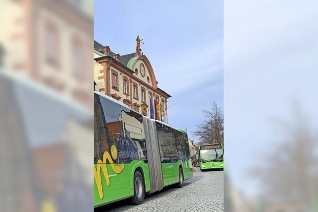 CDU will Busse aus der Fußgängerzone verbannen
