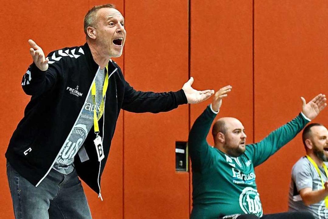 Michael Schilling, links als Verantwor...ls zum erweiterten Leitungsteam stößt.  | Foto: Wolfgang Künstle