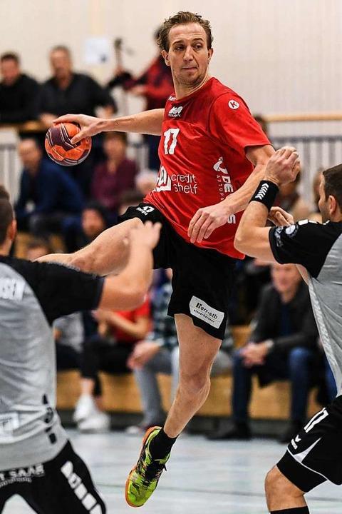 Will nun für die Teninger in der Oberl...mmt vom Südbadenligisten HSG Freiburg.  | Foto: Patrick Seeger