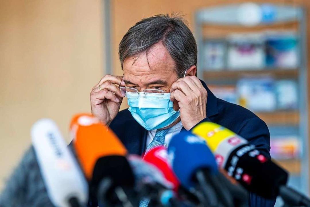 NRW-Ministerpräsident Armin Laschet  | Foto: David Inderlied (dpa)