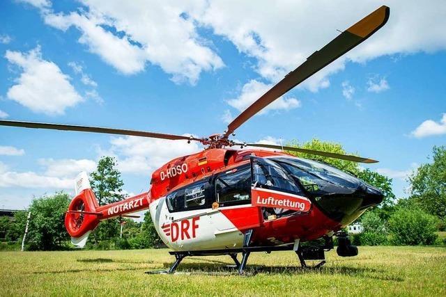 Ab dem 1. Juli hat Schopfheim einen Landeplatz für Rettungshubschrauber
