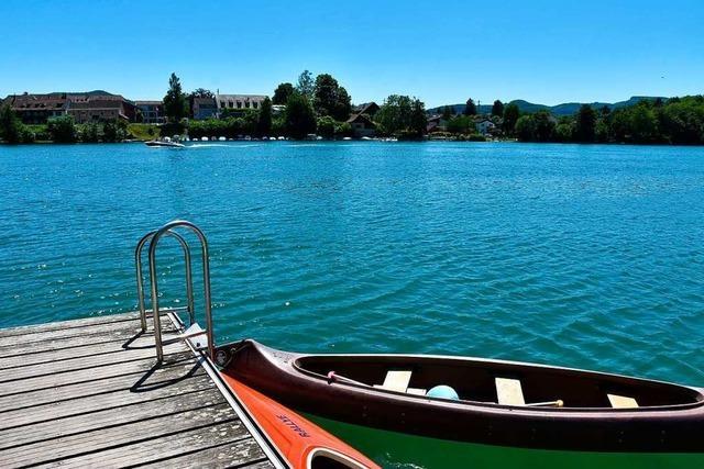 Es ist kompliziert, Bademöglichkeiten am Rhein einzurichten