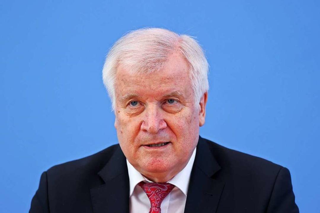 Bundesinnenminister Horst Seehofer    Foto: Fabrizio Bensch (dpa)