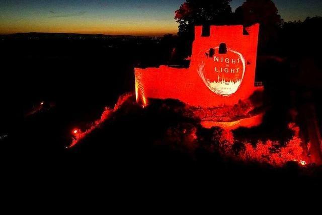 Fotos: Südbadens Veranstalter machen bei der Night of Light auf wirtschaftliche Not in der Corona-Krise aufmerksam