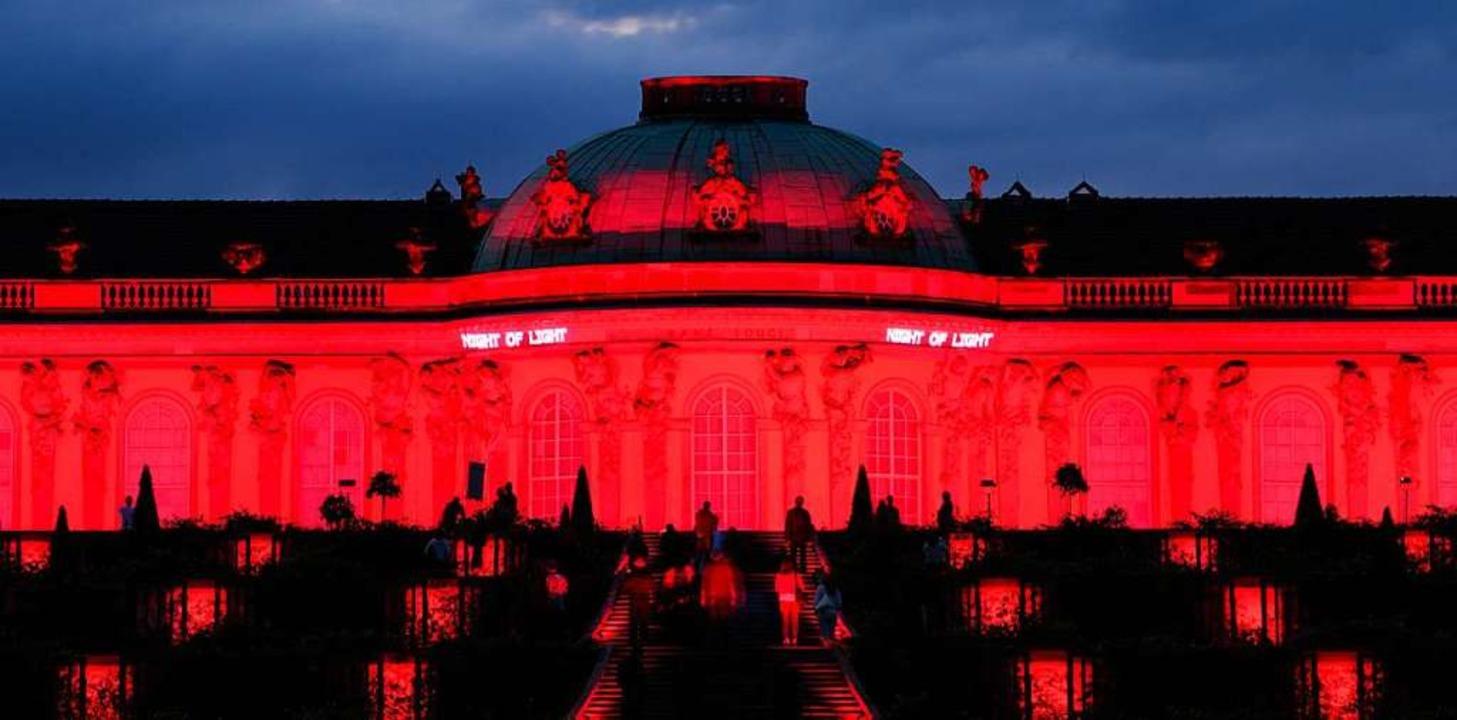 Das Schloss Sanssouci    Foto: Soeren Stache (dpa)