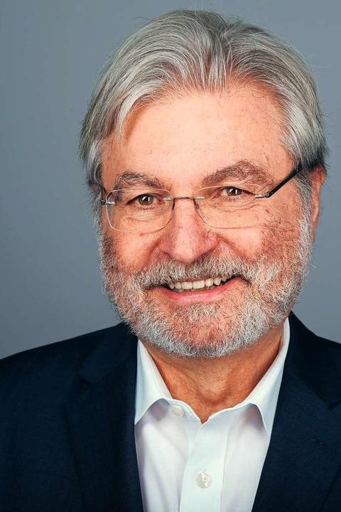 Mitherausgeber des Buches  und Ex-Chef...r der Badischen Zeitung: Thomas Hauser  | Foto: Miroslav Dakov