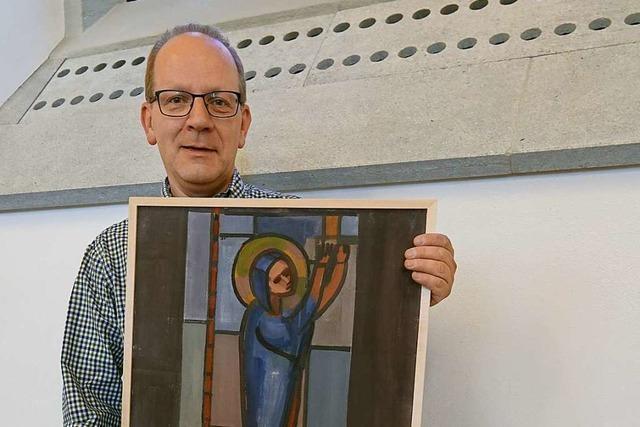 Ein verschollenes Gemälde von Jakob Strasser Tauchte auf einem Dachboden auf