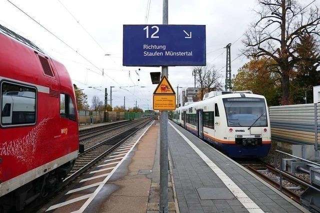 Petition gegen die Abschaffung der Direktverbindung der Münstertalbahn nach Freiburg