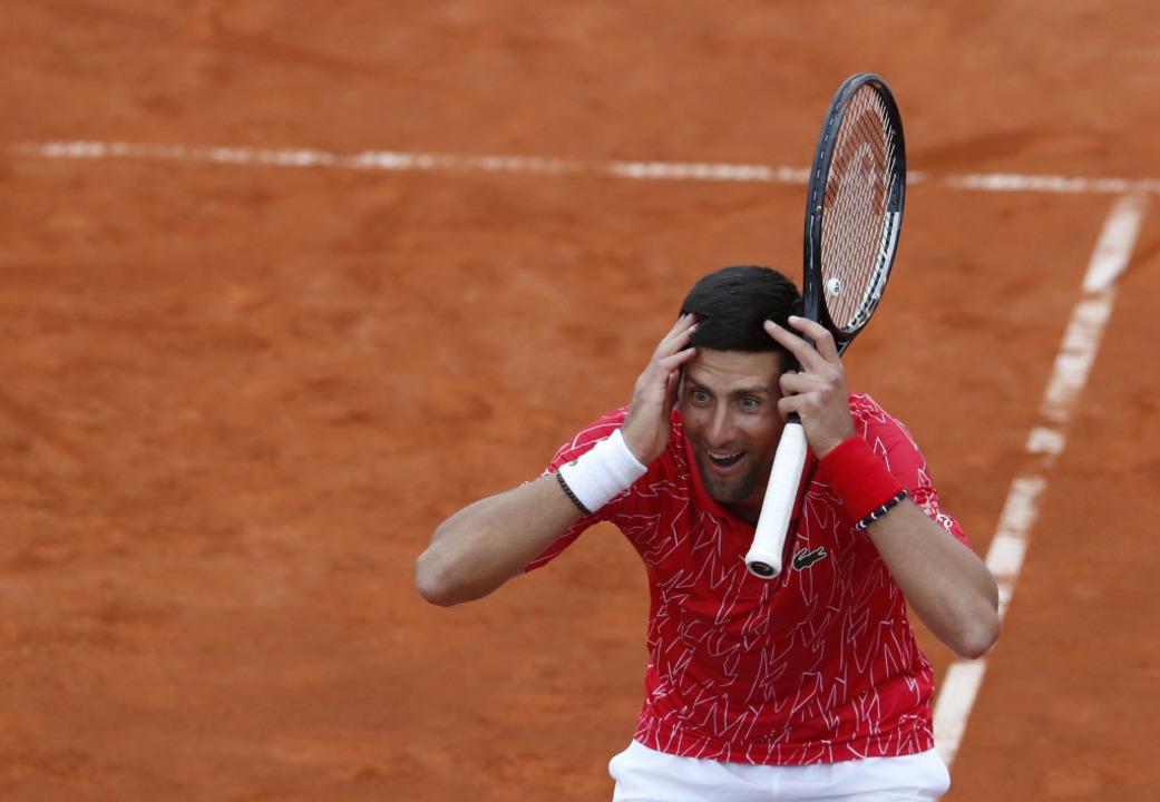Novak Djokovic ist positiv auf das Coronavirus getestet worden.    Foto: Darko Vojinovic (dpa)