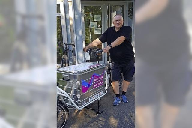 Ein Lobbyist für Radfahrer