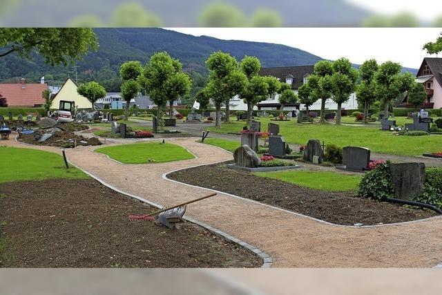 Platz für 216 neue Gräber in Wehr