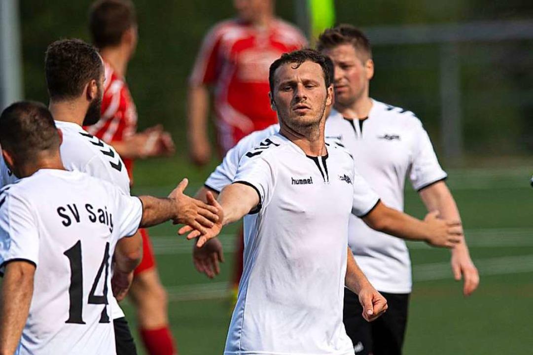 Vom Spieler zum Chef: Saigs neuer Trainer Viktor Schuchart  | Foto: Wolfgang Scheu