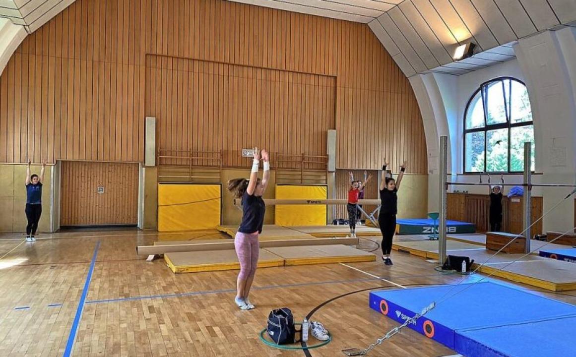 Endlich wieder Training in der Halle!   | Foto: SVW