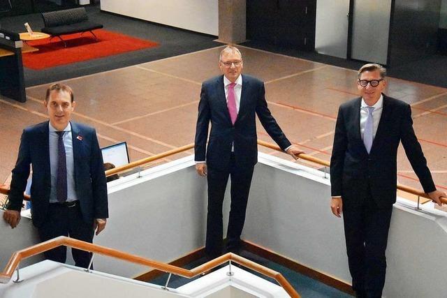 Sparkassenchef André Marker geht in den Ruhestand